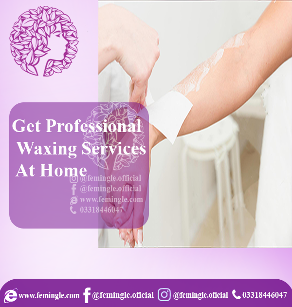 Professional wax service at home