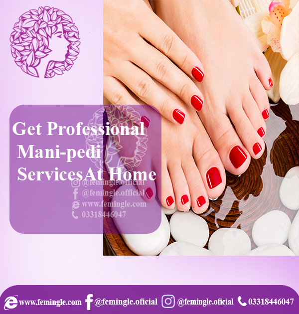 Best Manicure and Pedicure Services in Lahore