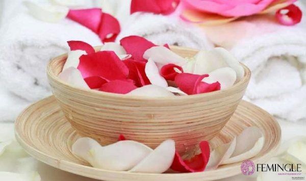 Rosepetals mask