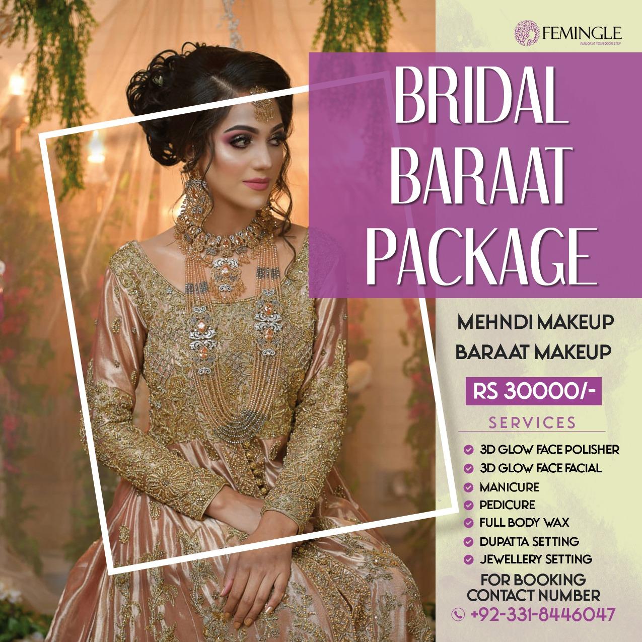 Bridal Makeup Deals and Services