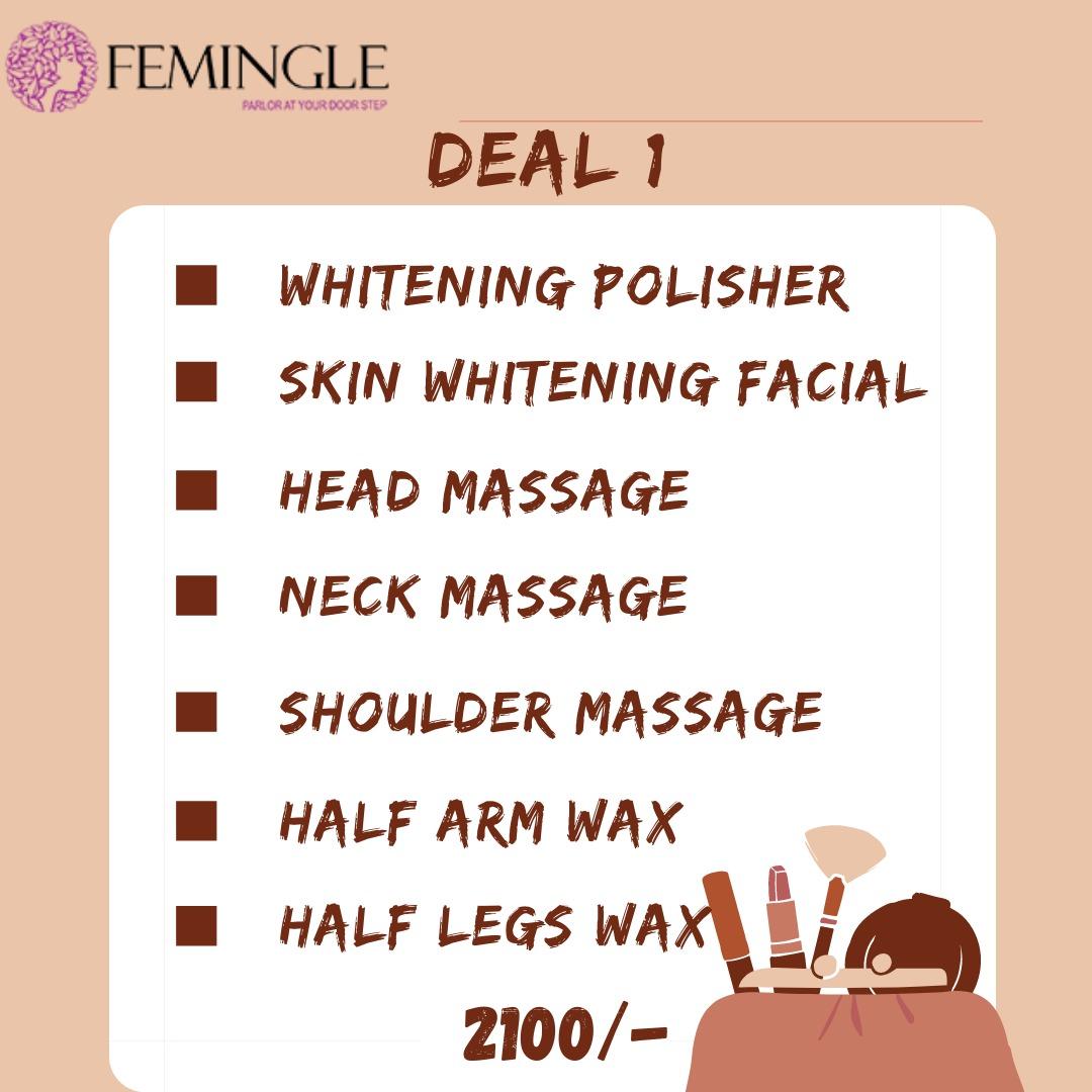 Facial and Waxing Deal