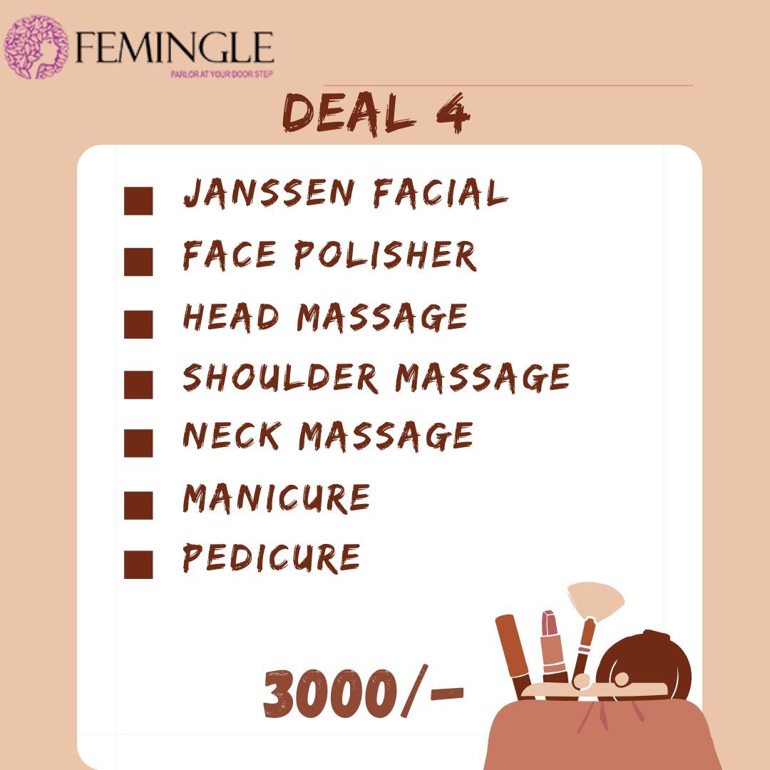 Janssens Facial And Mani Pedi Deal