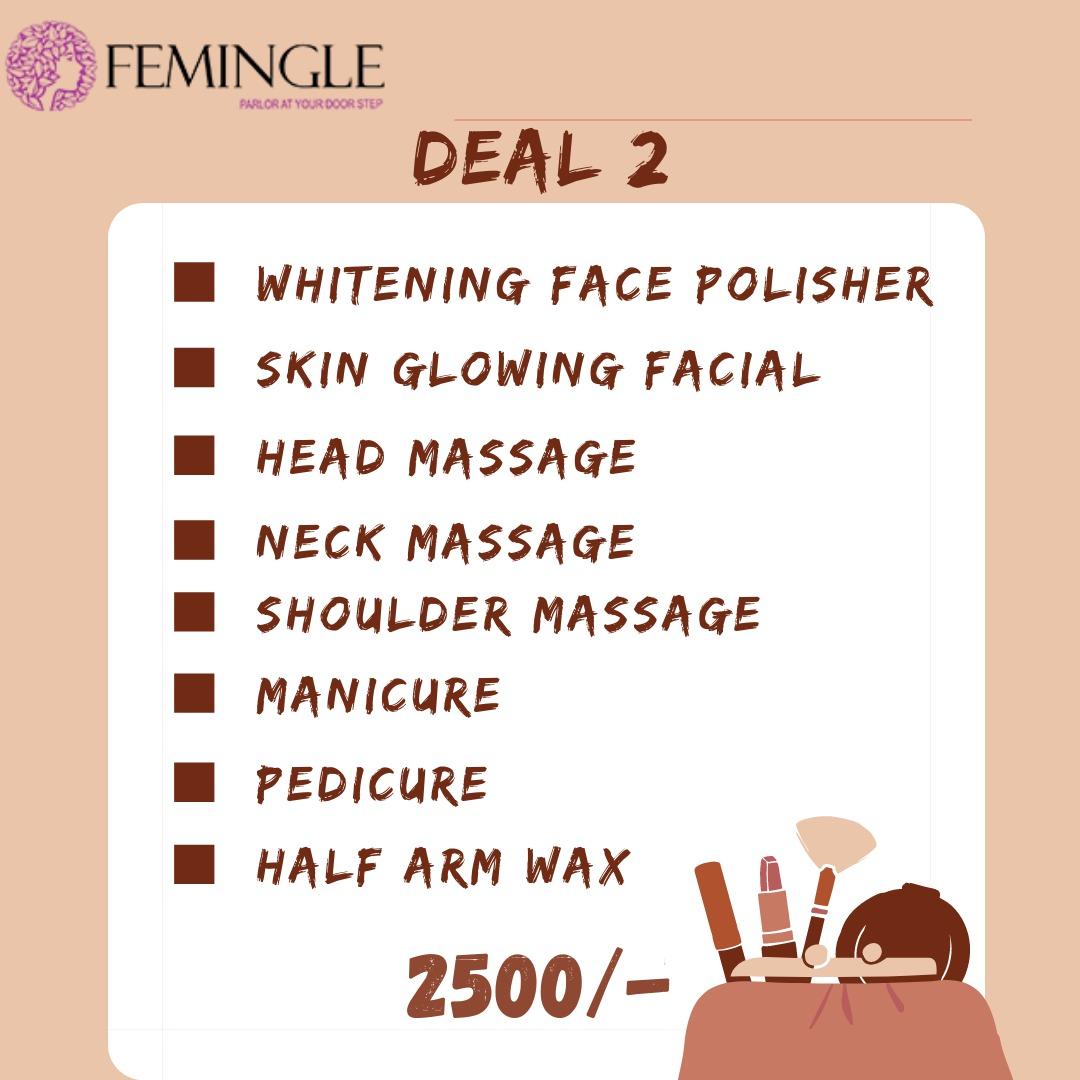 Facial And Mani Pedi Deal