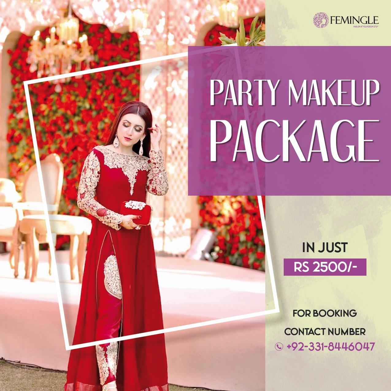 Party Makeup Deal